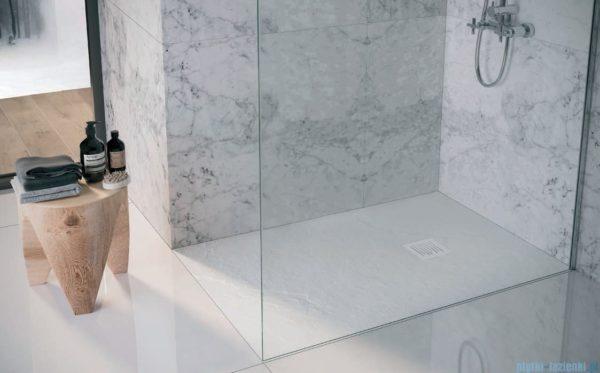 Zdjęcie Brodzik kompozytowy STONEX® Roca Ignis 90×90 cm Szary cement AP70238438401300