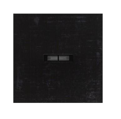 Brodzik kompozytowy STONEX® Roca Helios 90x90 cm Czarny dekatyzowany AP2013843840181P