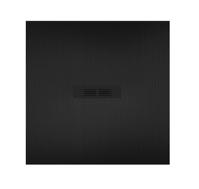 Brodzik kompozytowy STONEX® Roca Helios 90x90 cm Czarny AP2013843840140P
