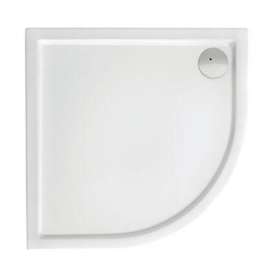 Brodzik akrylowy compact Roca Malaga 80x80 cm biały A276258000