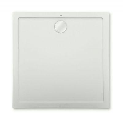 Brodzik kompozytowy STONEX® Roca Aeron 80x80 cm Szary cement A276284300