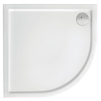 Brodzik akrylowy medio Roca Malaga 80x80 cm biały A27T002000