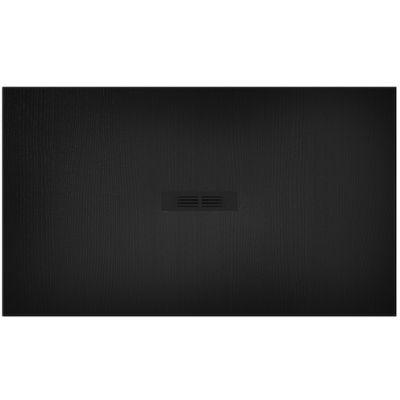 Brodzik kompozytowy STONEX® Roca Helios 140x80 cm Czarny AP2015783200140P