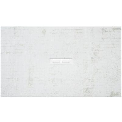 Brodzik kompozytowy STONEX® Roca Helios 100x80 cm Biały dekatyzowany AP2013E83200180P