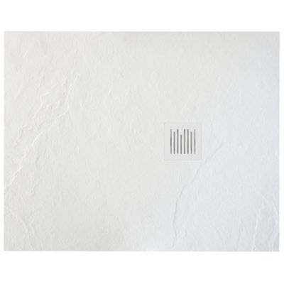 Brodzik kompozytowy STONEX® Roca Ignis 100x90 cm biała AP7013E838401100