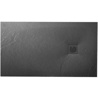 Brodzik kompozytowy STONEX® Roca Ignis 160x90 cm Szary łupek AP70164038401200