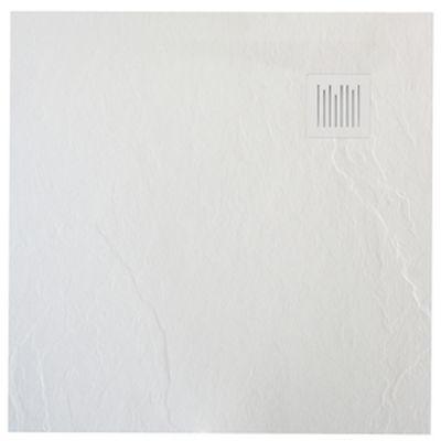 Brodzik kompozytowy STONEX® Roca Ignis 90x90 cm biała AP70238438401100