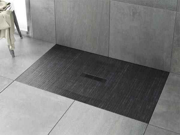 Zdjęcie Brodzik kompozytowy STONEX® Roca Helios 90×90 cm Czarny dekatyzowany AP2013843840181P
