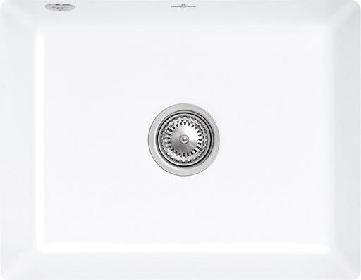 Zlewozmywak ceramiczny podblatowy Villeroy & Boch Subway 60 SU biały 545 x 440 mm 331001KG