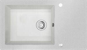 Deante Capella Zlewozmywak szklany z grafiką ZSC_AK2C