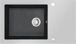 Deante Capella Zlewozmywak szklany z grafiką ZSC_GK2C