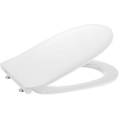 Deska WC SLIM wolnoopadająca Round Roca Debba biały A801B22003