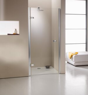 MEGA WYPRZEDAŻ! Drzwi prysznicowe skrzydlowe Huppe Enjoy 4-Kąt do wnęki lewe 90 670021091322 @ ^