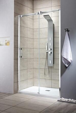 MEGA WYPRZEDAŻ! Drzwi prysznicowe Radaway Espera DWJ 110 prawe SZKŁO PRZEJ. @ ^