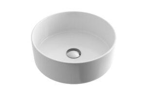 Umywalka nablatowa Actima - Excellent Ovia 37x37 cm okrągła biały CEAC.2501.WH