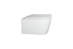 Deska WC wolnoopadająca Slim Excellent Quadra biały CESD.CWQDRF