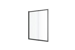 Parawan rozsuwany Excellent Liner czarny 110x140 cm L/P KAEX.2930.1100.LP