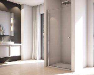 MEGA WYPRZEDAŻ! Drzwi prysznicowe SanSwiss Solino100 SOL3110005007 @ ^