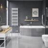 Zdjęcie Grzejnik łazienkowy Excellent Horos 146×50 cm Biały Soft GREX.HO146.WH