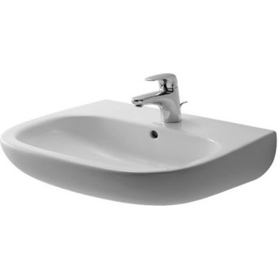 Umywalka ścienna Duravit D-Code 60x46 cm biały 23106000002