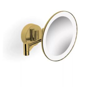 Lusterko kosmetyczne Stella złoty połys 22.00230-G
