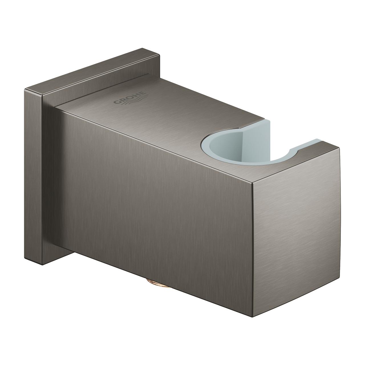 GROHE Euphoria Cube - kolanko przyłączeniowe ścienne brushed hard graphite 26370AL0 .
