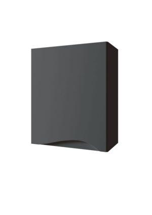 Szafka wisząca Defra Murcia A40 lakier grafit mat lewa 41x50x21,8 cm 144-A-04010