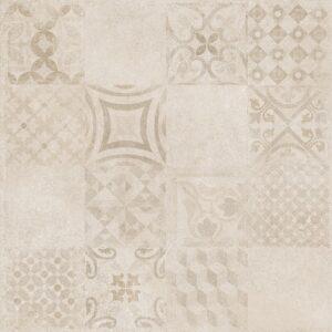 Płytka podłogowa Raco Betonico Jasny beż Dekor 59,8 x 59,8 cm DAK63797