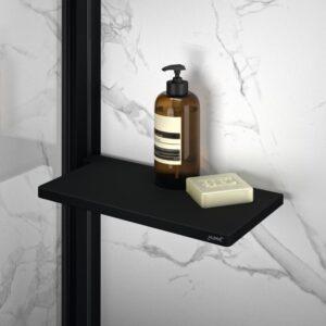 Półka prysznicowaTablet Huppe Select+ Black Edition SL2101123