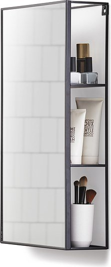 Półka z lustrem Umbra Cubiko 30.50 x12.90 x 60.90 cm 1009654-040