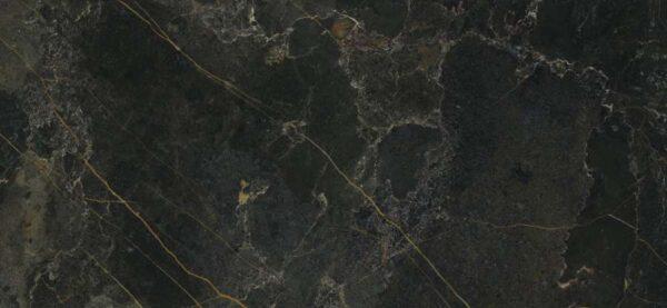 Zdjęcie Płytka gresowa rekt. AB Icaro Dark Poler 60 x 120 cm czarny P6012GRP