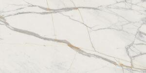 Płytka gresowa Tubądzin Monolith Marmo d'Oro Mat 239,8x119,8 cm