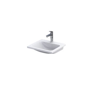 Umywalka meblowa Oristo Cera ceramiczna biała 50 cm UME-CE-50-91