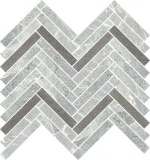 Mozaika cięta Paradyż Stone matter Grys Mat 28,1x30,1 cm (p)