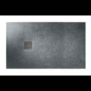 Brodzik kompozytowy prostokątny Roca Terran STONEX® 1600x1000 mm szary łupek AP016403E801200 ^
