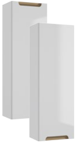 Szafka wisząca Defra/Deftrans Stella 30x90 cm biały 190-C-03003 @^