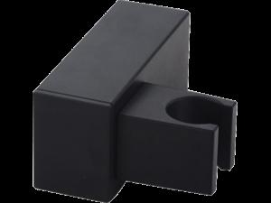 Uchwyt ścienny słuchawki natryskowej Laveo Kvadrato czarny CNQ_70AD