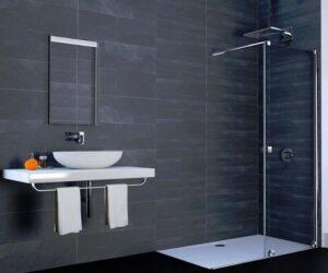 Drzwi prysznicowe rozsuwane 1 - częściowe Walk-In Huppe Xtensa Pure 120x200 cm lewe XT0103069322 @