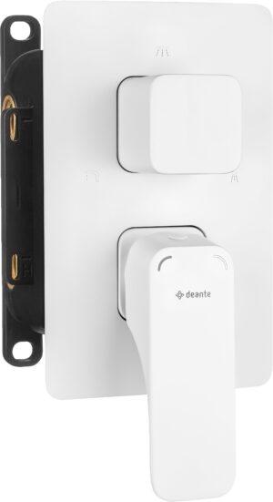 Deante Hiacynt Bateria prysznicowa podtynkowa biały BXY_AQHM