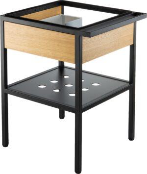 Deante Konsola łazienkowa stojąca z szufladą 66,5x50x70 cm czarny CSD_X60A