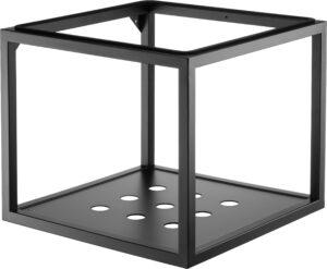 Deante Konsola łazienkowa wisząca 50x50 cm czarny CSW_X50A