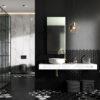 Zdjęcie Blat marmur Elita Marquina 140x46x2 cm black mat 167484