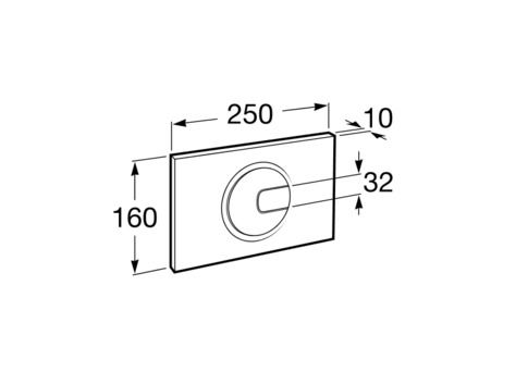 Zdjęcie Stelaż podtynkowy do wc 3/6L Roca PRO A890090020 + Przycisk Roca PL4 2-funkcyjny biały A890098000 + Miska podwieszana WC Rimless Square z deską wolnoopadającą ULTRASLIM (zestaw) Roca Gap 54×37,5 cm biały A34H472000 ^