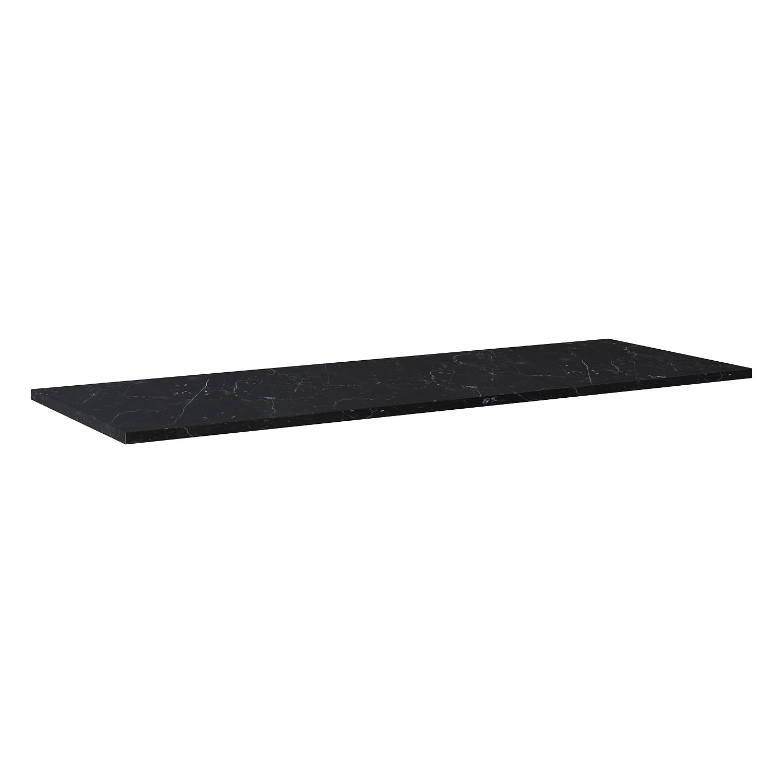 Blat marmur Elita Marquina 140x46x2 cm black mat 167484