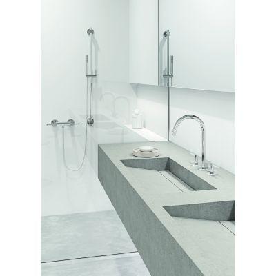 Zdjęcie Zestaw prysznicowy ścienny Kludi Nova Fonte Puristic chrom 2084005-15