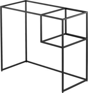 Deante Correo Konsola łazienkowa stojąca 90x40x77 cm czarny CKC_N90A