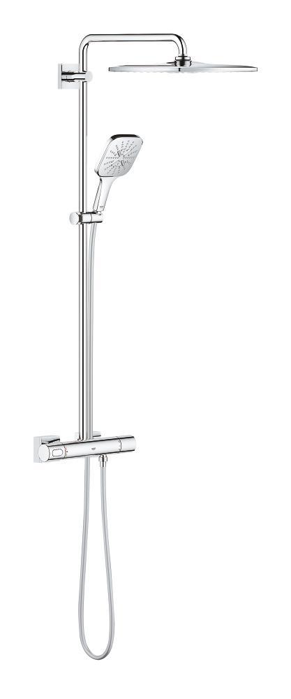 Grohe Rainshower SmartActive 310 System prysznicowy z termostatem do montażu ściennego chrom 26649000 .