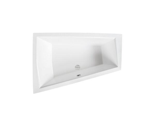 Zdjęcie Wanna narożna asymetryczna Besco Intima Duo 170×125 cm lewa biały WAID-170-NL