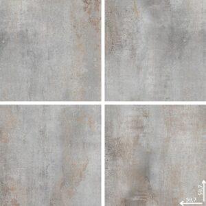 Płytka podłogowa Ceramica Limone Hera Grey mat 59,7x59,7 cm