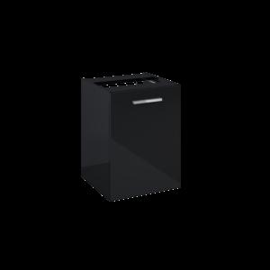 Komoda Elita Kwadro Plus 40 z koszem cargo black HG PDW 167652